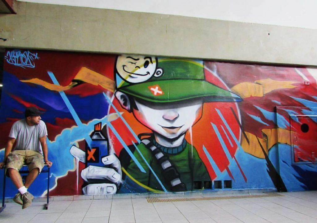 Xyrox- Arte Muralismo- Street Art - mt2 sob consulta