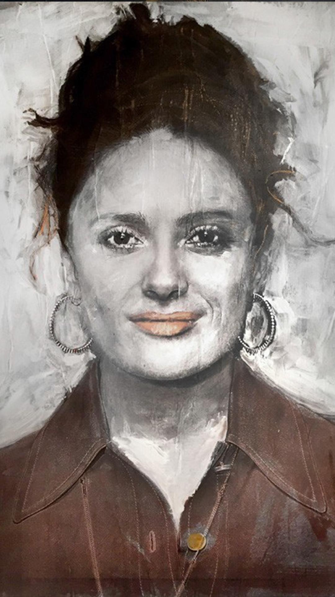 Salma Hayek tec mista  100X130 cm $45..000